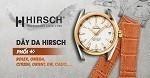 Đồng hồ nổi tiếng thế giới phối với dây da Hirsch bán chạy
