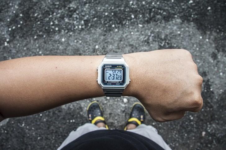 Đồng hồ điện tử Casio B650WD-1ADF rẻ, miễn phí thay pin - Ảnh: 1