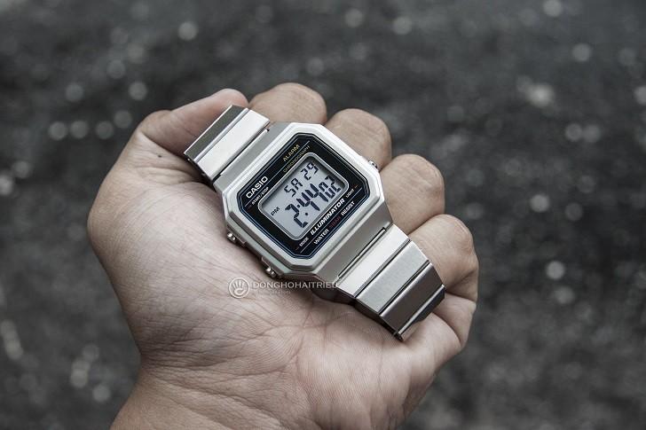 Đồng hồ điện tử Casio B650WD-1ADF rẻ, miễn phí thay pin - Ảnh: 5