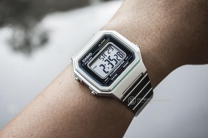 Đồng hồ điện tử Casio B650WD-1ADF rẻ, miễn phí thay pin - Ảnh: 6