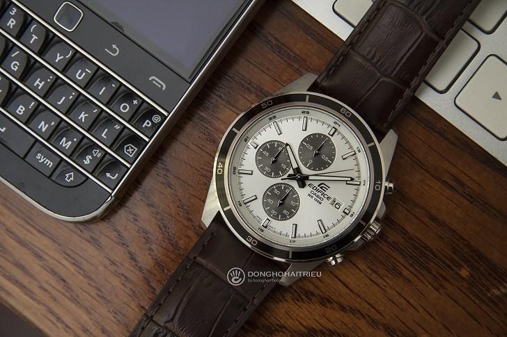 Đồng hồ Casio Edifice EFR-526L-7AVUDF giá rẻ, có chronograph - Ảnh: 1