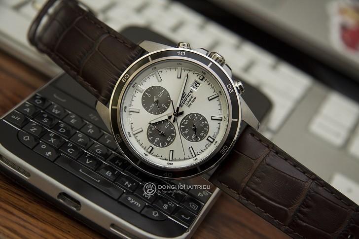 Đồng hồ Casio Edifice EFR-526L-7AVUDF giá rẻ, có chronograph - Ảnh: 3