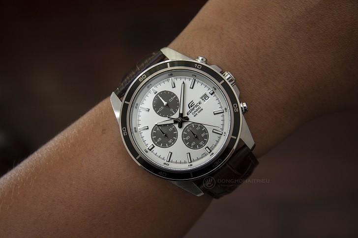 Đồng hồ Casio Edifice EFR-526L-7AVUDF giá rẻ, có chronograph - Ảnh: 5