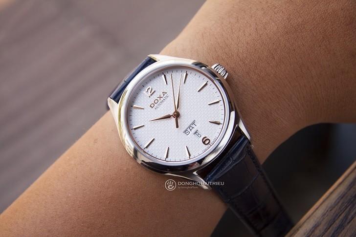 Đồng hồ Doxa D216SWH máy cơ, đạt chứng nhận Swiss Made - Ảnh: 3