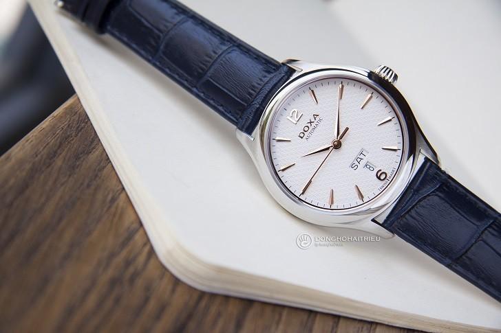 Đồng hồ Doxa D216SWH máy cơ, đạt chứng nhận Swiss Made - Ảnh: 5