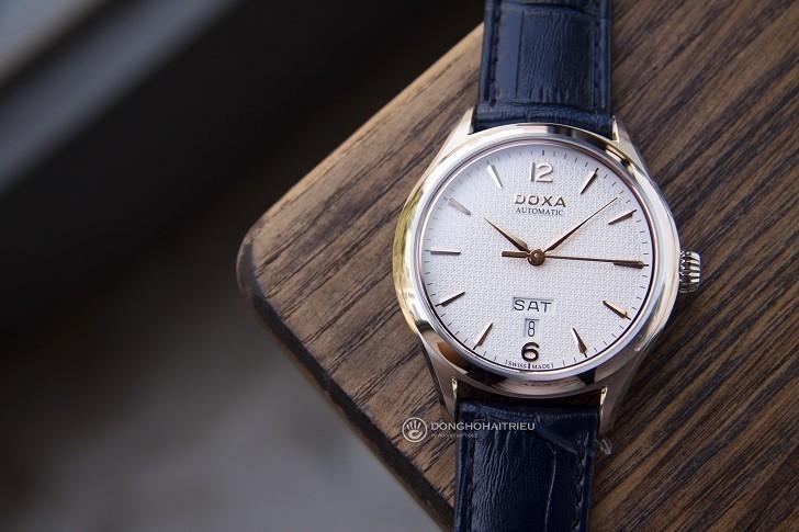 Đồng hồ Doxa D216SWH máy cơ, đạt chứng nhận Swiss Made - Ảnh: 6