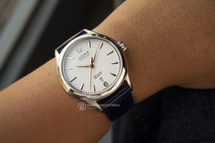 Đồng hồ Doxa D216SWH máy cơ, đạt chứng nhận Swiss Made - Ảnh: 8