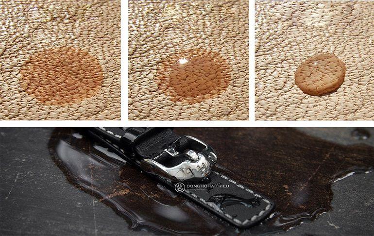 Hydrophobic là gì? 3 cấp độ chống thấm nước khi thuộc dây da - Ảnh: 5