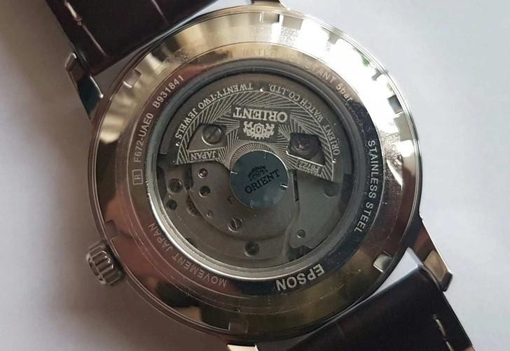 Đồng hồ Orient RA-AC0F07S10B automatic, trữ cót đến 40 giờ - Ảnh 5