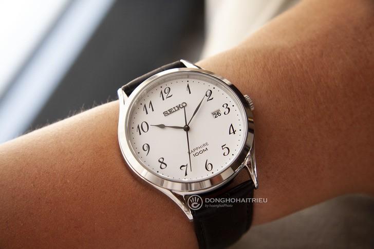 Đồng hồ nam Seiko SGEH75P1 thời trang, thoải mái bơi lội - Ảnh 2
