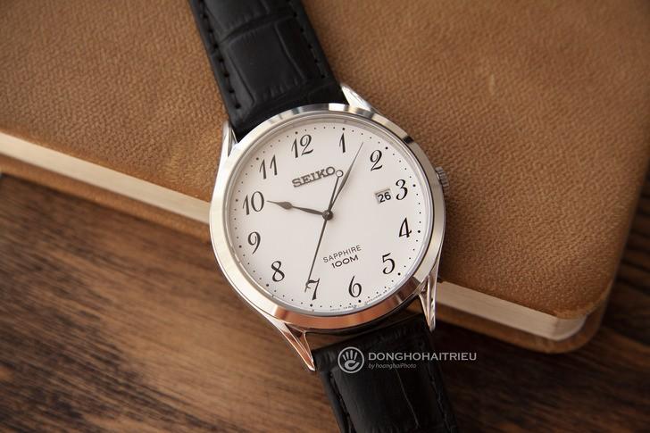 Đồng hồ nam Seiko SGEH75P1 thời trang, thoải mái bơi lội - Ảnh 3