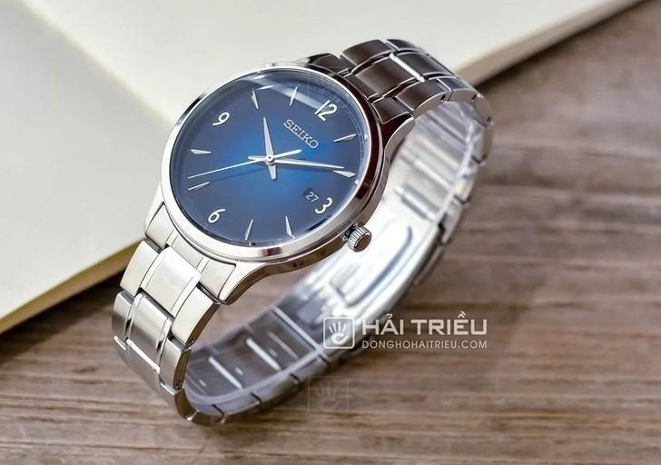Đồng hồ Seiko SGEH89P1: Thiết kế thanh lịch, mặt xanh tinh tế - Ảnh: 5