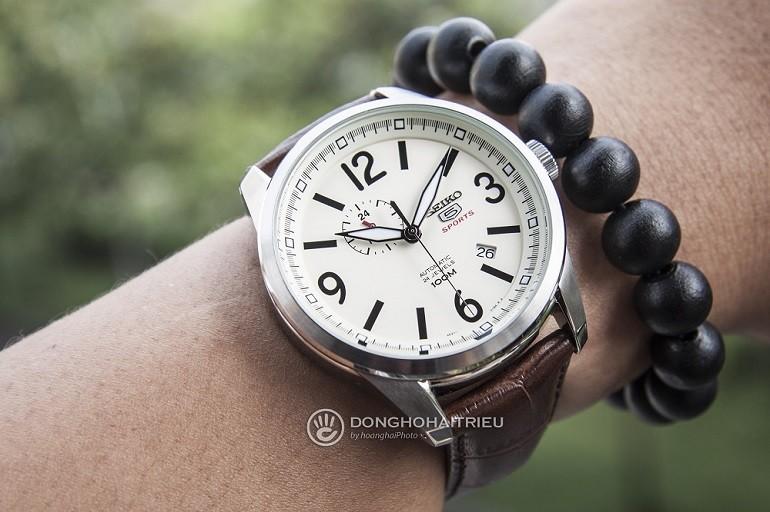 Thay dây da đồng hồ Seiko, Seiko 5 quân đội,... chính hãng - Ảnh: Seiko SSA295K1