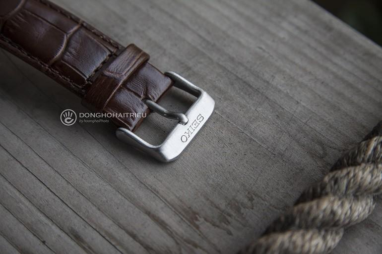 Thay dây da đồng hồ Seiko, Seiko 5 quân đội,... chính hãng - Ảnh: Seiko SSA295K1 2