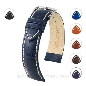 Thay dây da đồng hồ Seiko, Seiko 5 quân đội,... chính hãng - Ảnh: Hirsch Modena