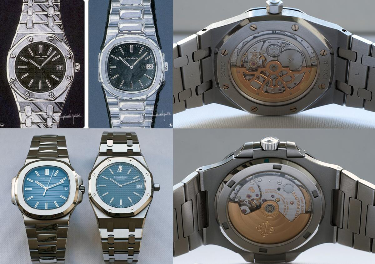 Audemars Piguet Royal Oak và Patek Philippe Nautilus