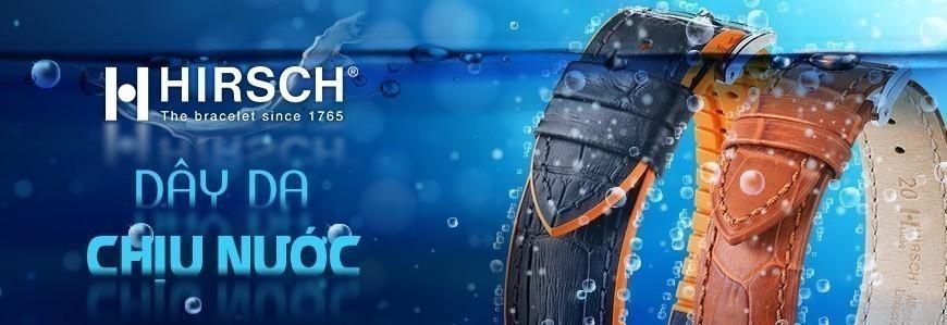 Dây da Hirsch - Số 1 thế giới về dây da đồng hồ Chịu Nước