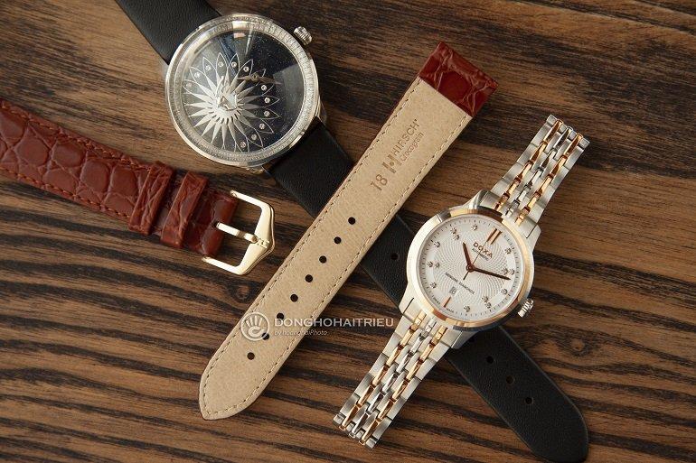 Đồng hồ nổi tiếng phối với dây da Hirsch bán chạy - Ảnh: 1