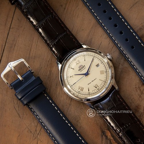 Đồng hồ nổi tiếng thế giới phối với dây da Hirsch bán chạy - Ảnh: 6