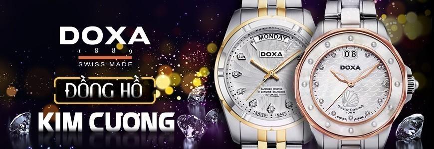 DOXA, đồng hồ kim cương và đá quý Thụy Sỹ | Since 1889