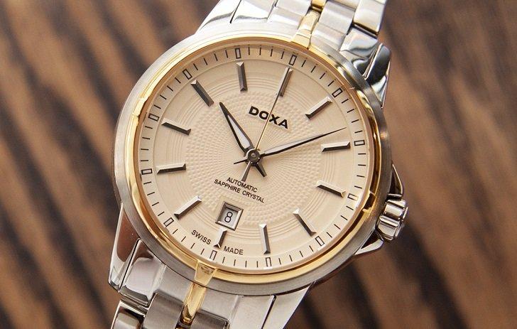 Đồng hồ Doxa D153TCM máy swiss automatic dành cho nữ - Ảnh: 2