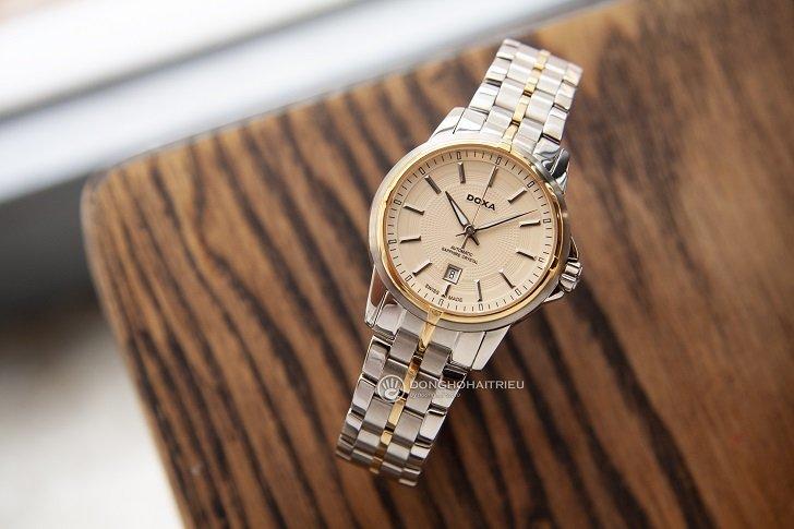 Đồng hồ Doxa D153TCM máy swiss automatic dành cho nữ - Ảnh: 7