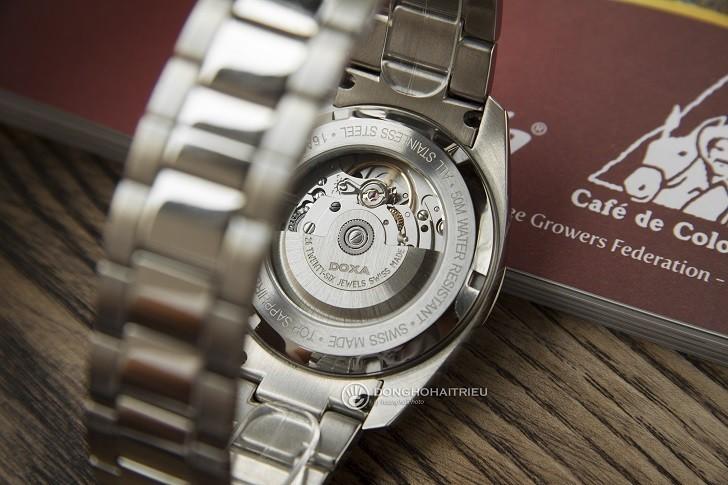Đồng hồ Doxa D205RWH: máy cơ, kim dạ quang, lịch rộng,... - Ảnh: 3