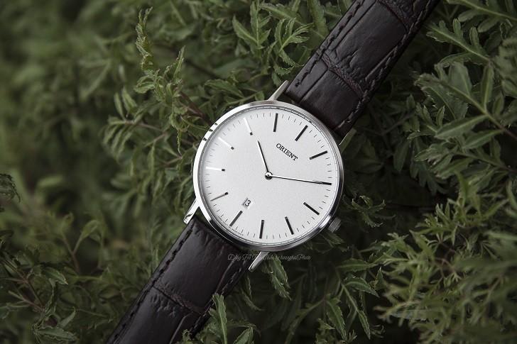 Đồng hồ Orient FGW05005W0 nam tối giản, dây da chính hãng - Ảnh: 1