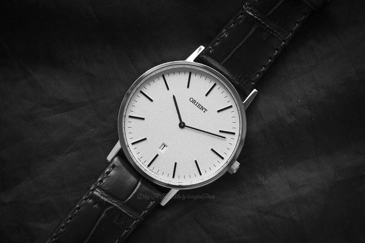 Đồng hồ Orient FGW05005W0 nam tối giản, dây da chính hãng - Ảnh: 2