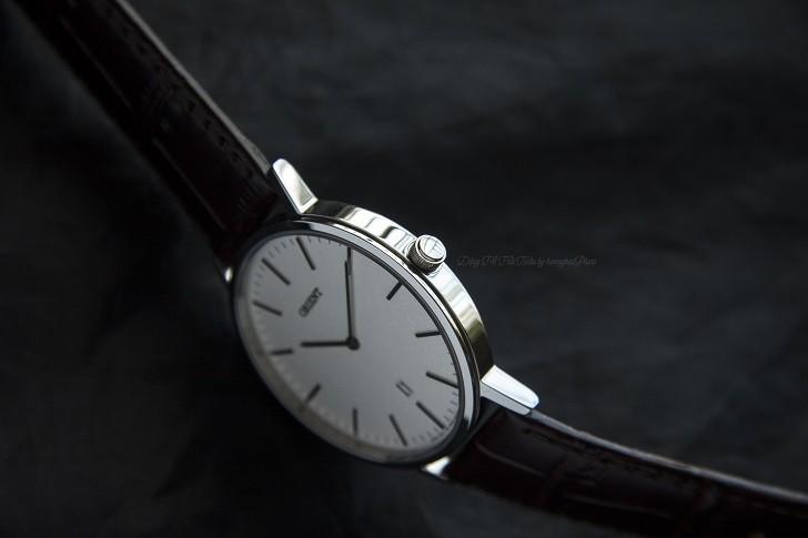 Đồng hồ Orient FGW05005W0 nam tối giản, dây da chính hãng - Ảnh: 3