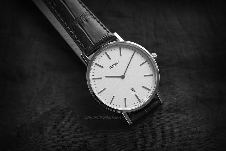 Đồng hồ Orient FGW05005W0 nam tối giản, dây da chính hãng - Ảnh: 6