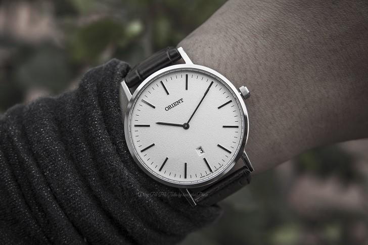 Đồng hồ Orient FGW05005W0 nam tối giản, dây da chính hãng - Ảnh: 8