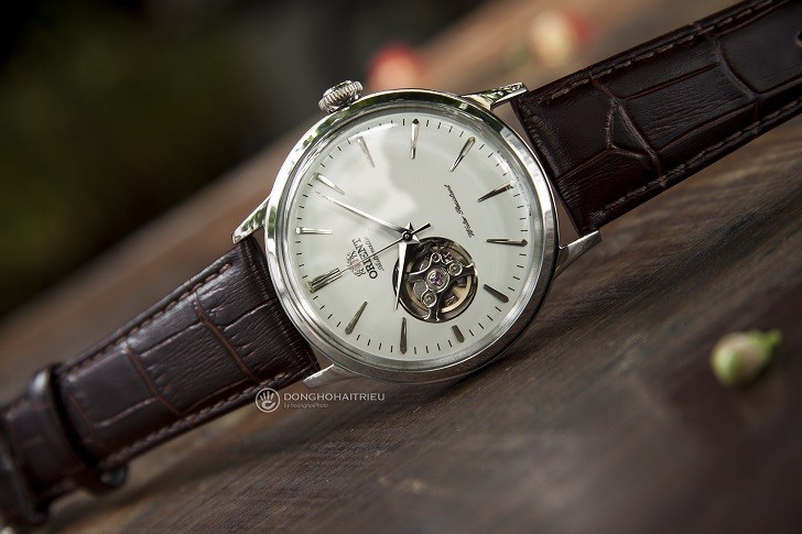 Đồng hồ Orient RA-AG0002S10B (Bambino Open Heart) kính cong - Ảnh: 1