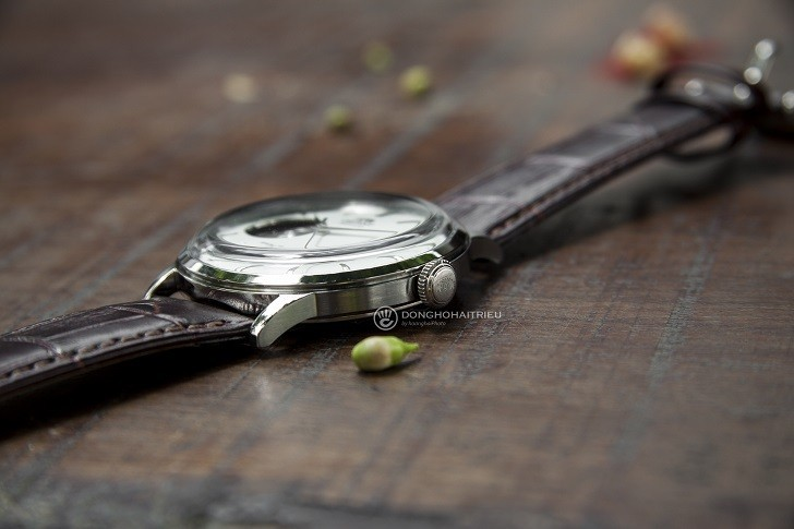 Đồng hồ Orient RA-AG0002S10B (Bambino Open Heart) kính cong - Ảnh: 2