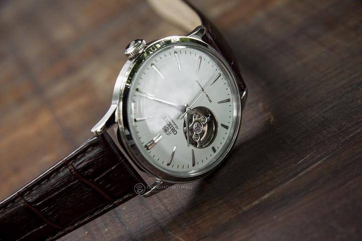 Đồng hồ Orient RA-AG0002S10B (Bambino Open Heart) kính cong - Ảnh: 4