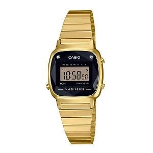 Tổng hợp 30 mẫu đồng hồ nữ mặt nhỏ dưới 29mm bán chạy nhất - Ảnh: Casio LA670WGAD-1DF