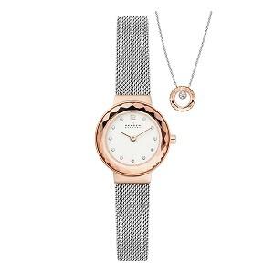 Tổng hợp 30 mẫu đồng hồ nữ mặt nhỏ dưới 29mm bán chạy nhất - Ảnh: Skagen SKW1112