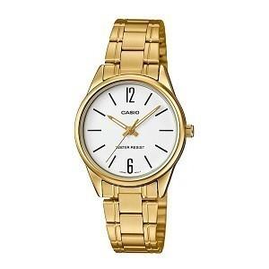 Tổng hợp 30 mẫu đồng hồ nữ mặt nhỏ dưới 29mm bán chạy nhất - Ảnh: Casio LTP-V005G-7BUDF