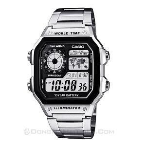 30 mẫu đồng hồ bán siêu chạy cho ngày Tết 2020 rộn ràng - Ảnh: Casio AE-1200WHD-1AVDF