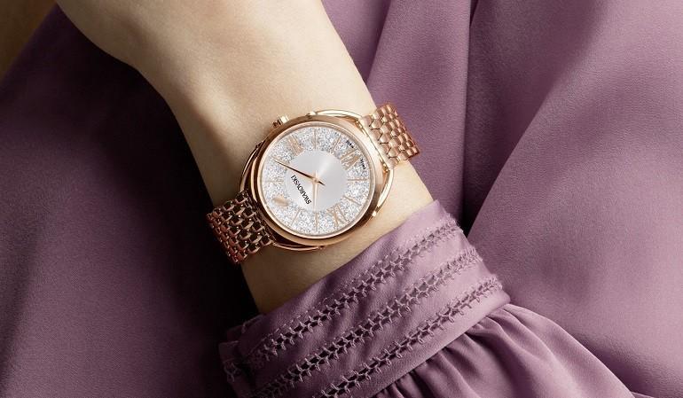 30 mẫu đồng hồ Swarovski® nữ đẹp như đính kim cương thật - Ảnh: 10