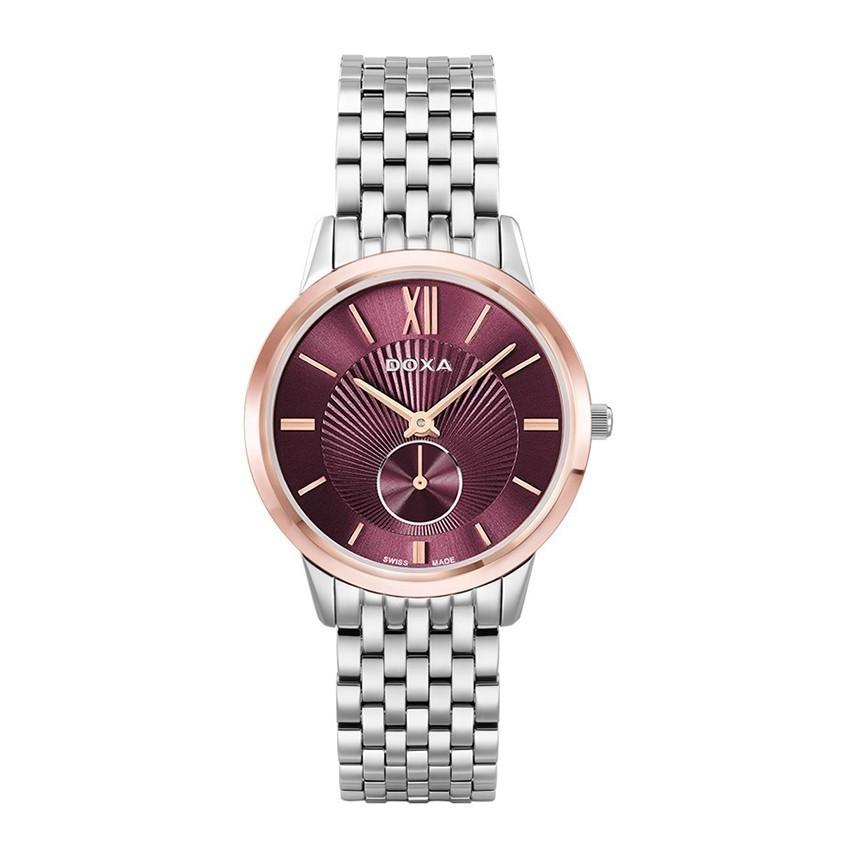Tổng hợp 30 mẫu đồng hồ nữ mặt nhỏ dưới 29mm bán chạy nhất - Ảnh: Doxa D156RBY