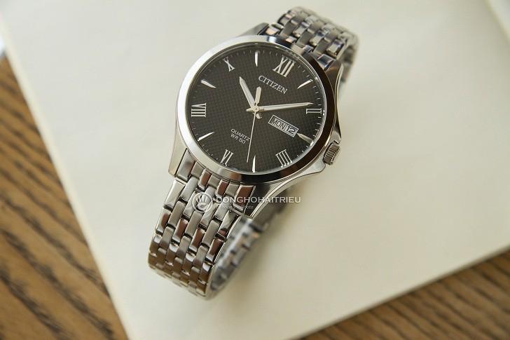 Đồng hồ Citizen BF2020-51E máy quartz, giá rẻ cho nam - Ảnh: 8