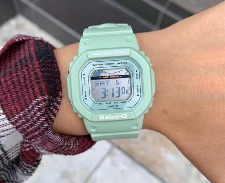 Đồng hồ Baby-G BLX-560-3DR: giá tốt và thay pin miễn phí - Ảnh: 1