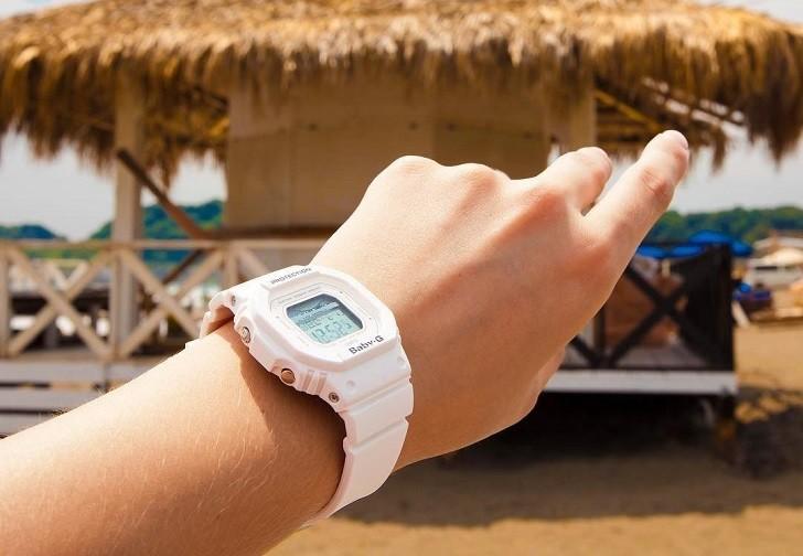 Đồng hồ Baby-G BLX-560-7DR giá rẻ và thay pin miễn phí - Ảnh 3