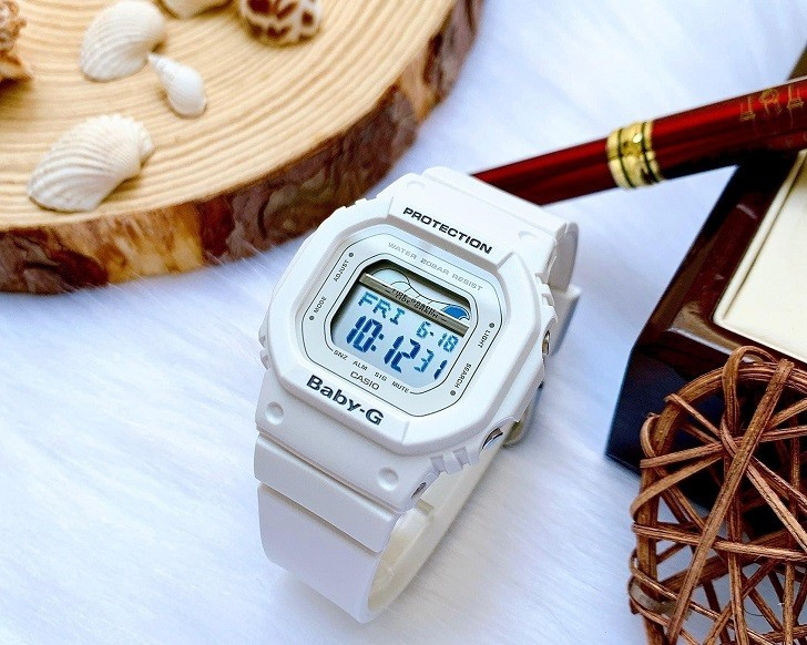 Đồng hồ Baby-G BLX-560-7DR giá rẻ và thay pin miễn phí - Ảnh 6