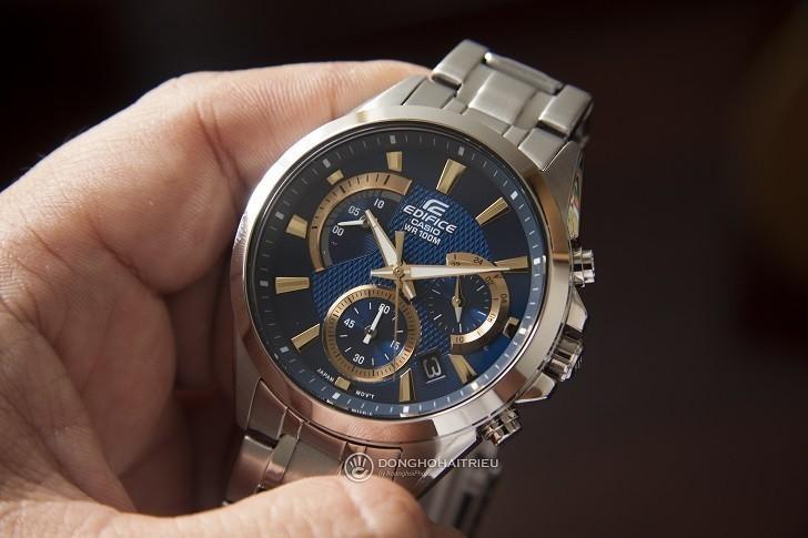 Đồng hồ Casio Edifice EFV-580D-2AVUDF chronograph wr100m - Ảnh: 1