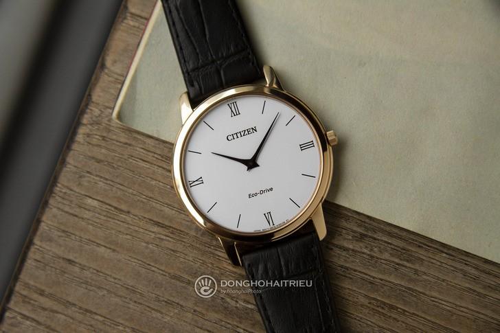 Đồng hồ Citizen AR1133-23A thời trang, công nghệ Eco-Drive - Ảnh 1