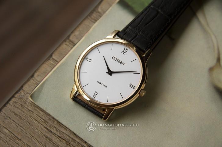 Đồng hồ Citizen AR1133-23A thời trang, công nghệ Eco-Drive - Ảnh 2