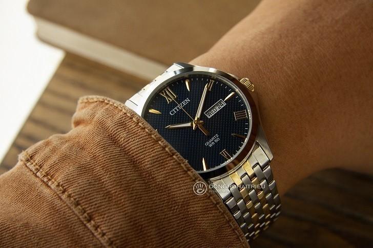 Đồng hồ nam Citizen BF2024-50L giá rẻ, thay pin miễn phí - Ảnh 4