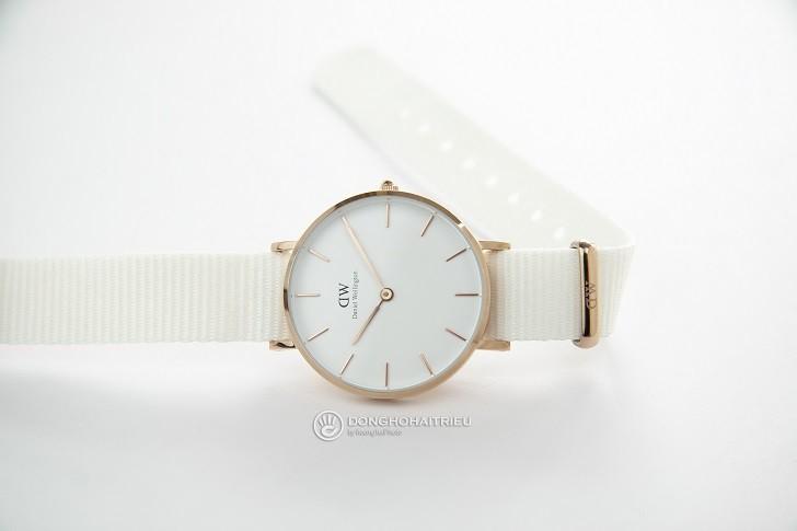 Đồng hồ Daniel Wellington DW00100311 dây vải Nato màu trắng - Ảnh: 4